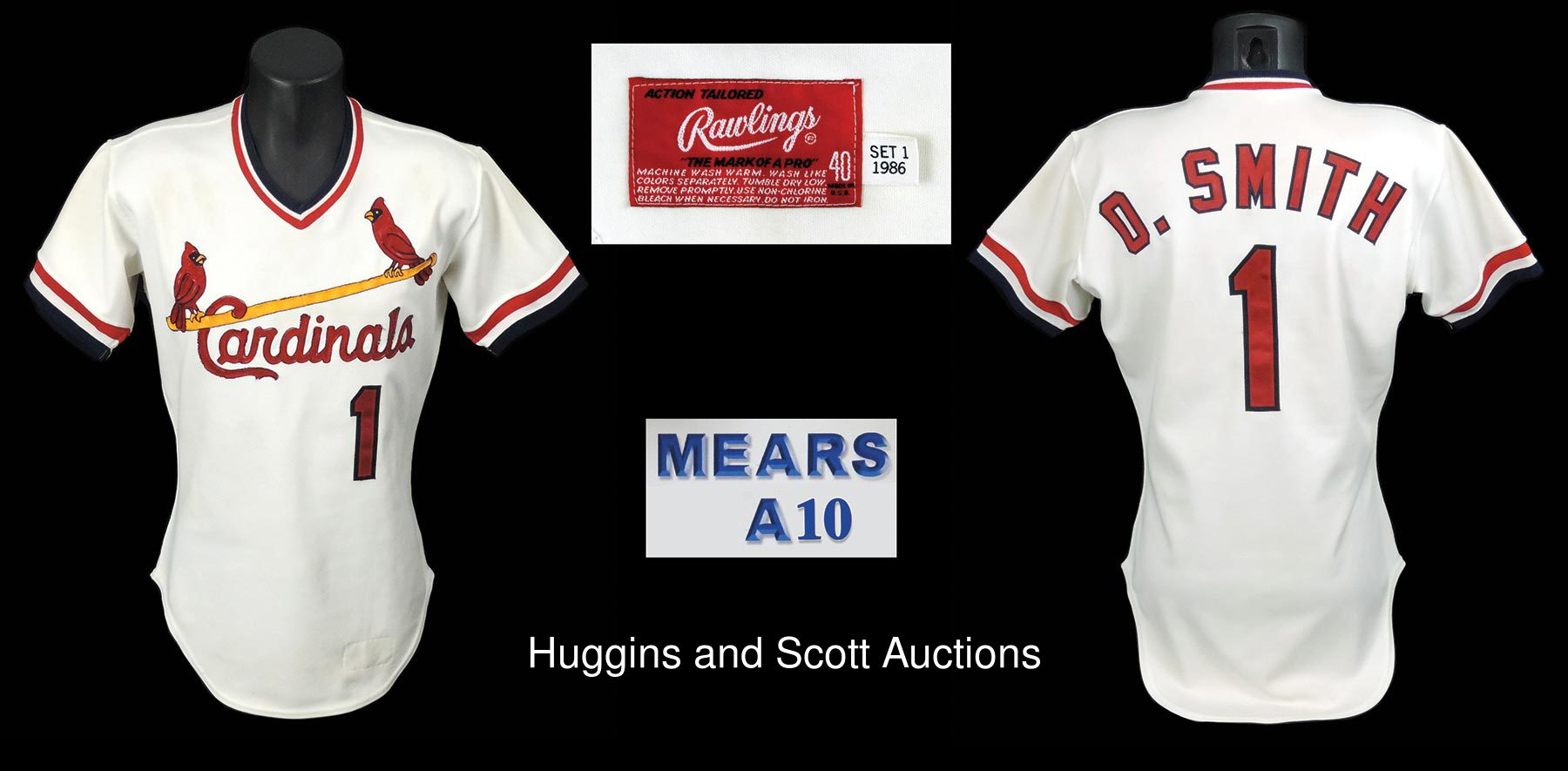 finest selection 5ab33 93aa0 1 ozzie smith jersey city